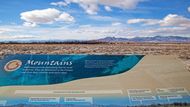 view of ash meadows national wildlife refuge