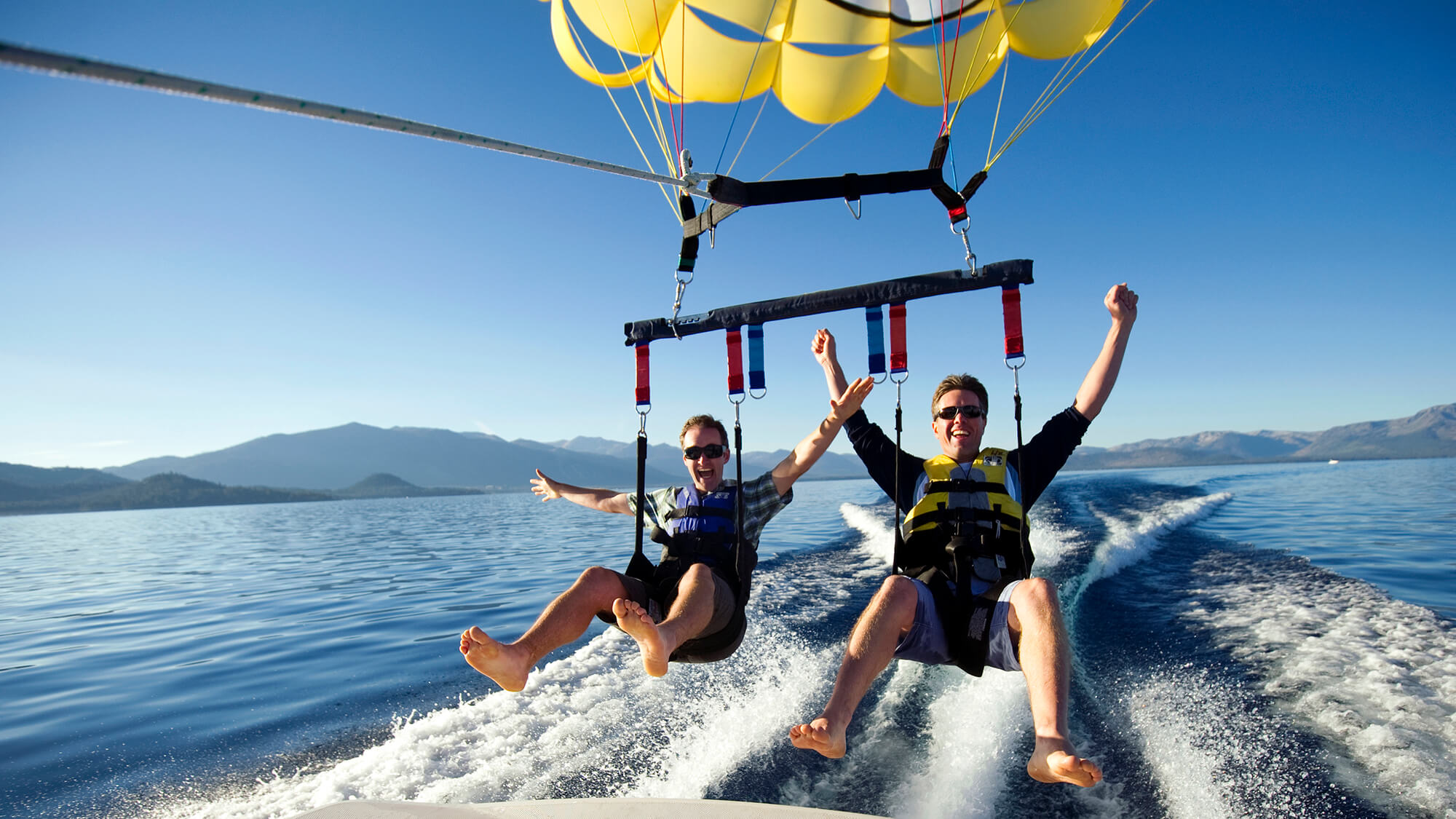 summer in south shore lake tahoe