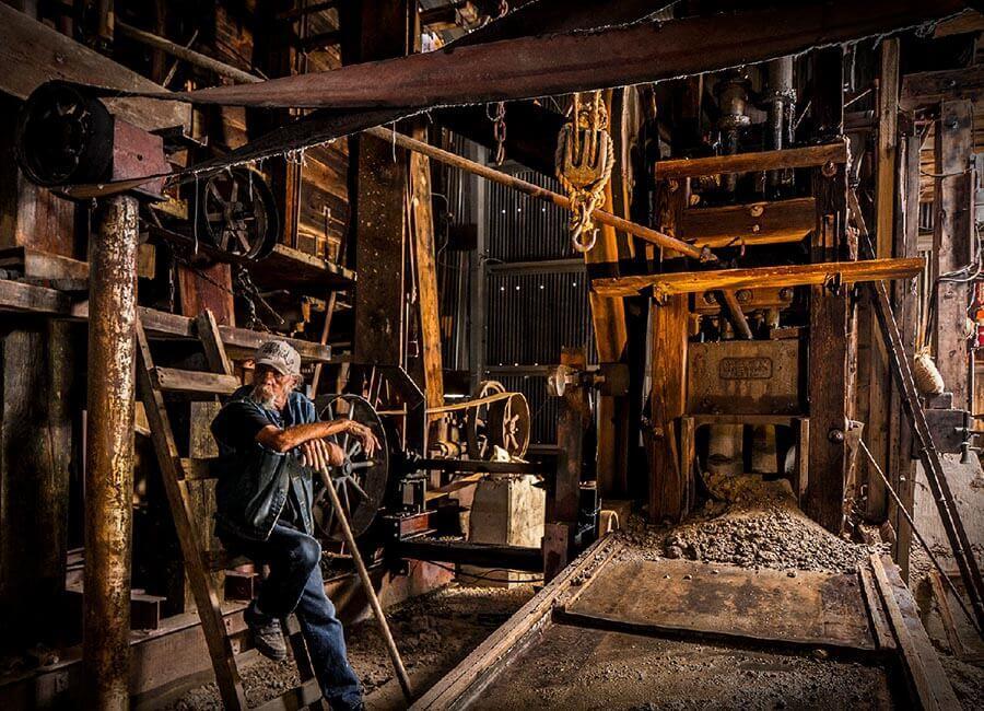 Comstock Gold Mill, Nevada Rockhounding, Nevada Mining, Rockhounding, Mining, Prospecting, Gold Mine