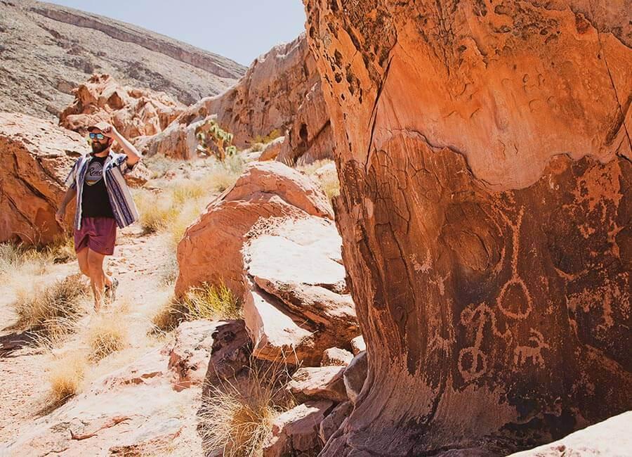 Gold Butte, Petroglyphs, Gold Butte petroglyphs
