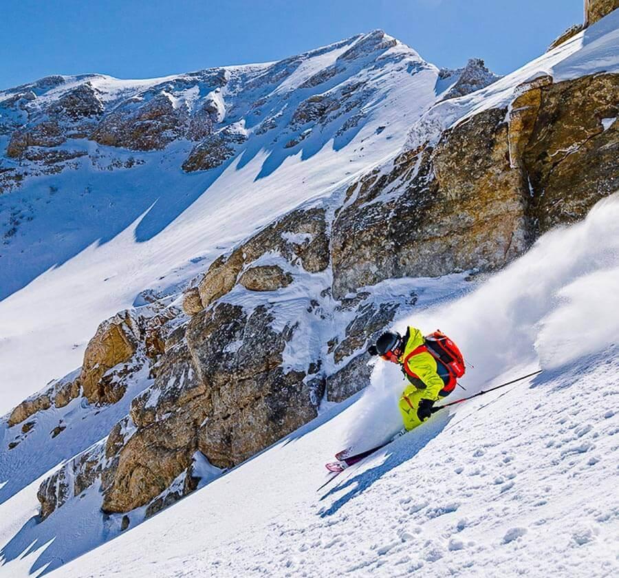 Ruby Mountain Heli Ski, Heli Ski, Heli Skiing