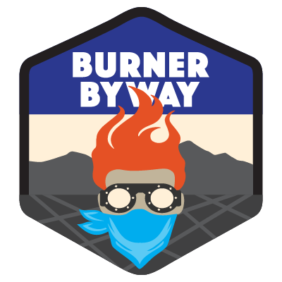 Burner Byway Shield