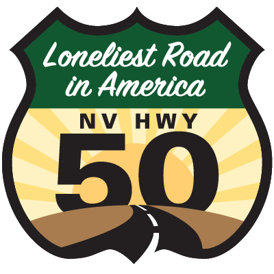 Loneliest Road Highway Shield