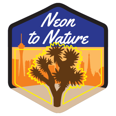 Neon to Nature Highway Shield