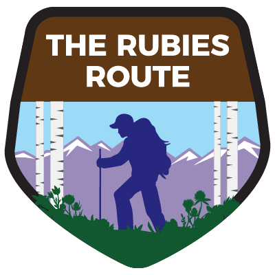 Rubies Route Highway Shield