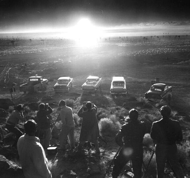Nevada Atomic Bomb, Atomic Test Site, Atomic Bomb, Nevada Test Site, Nevada National Security Site, Bombing Range, Nevada Atomic Bomb
