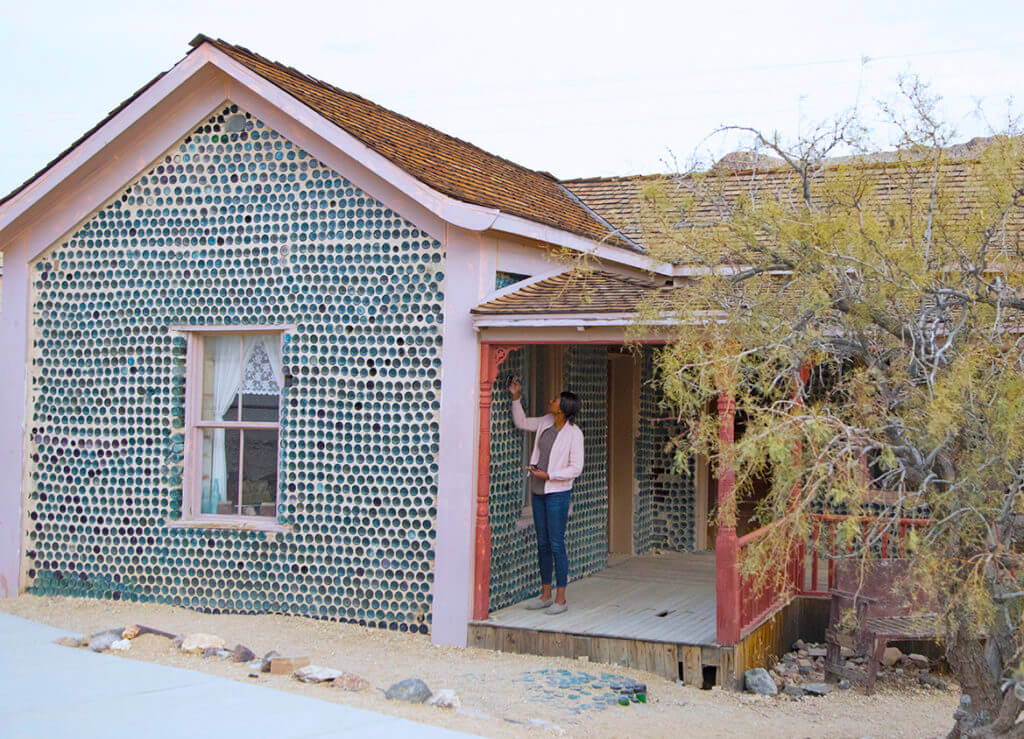 Tom Kelly Bottle House, Historic Site, Historic Places, Nevada Historic Places, Nevada Historic Sites