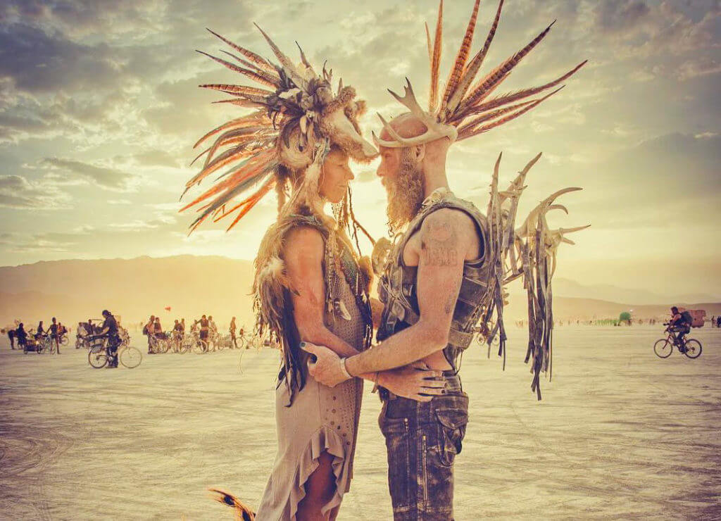 Burning Man Wedding, Nevada Wedding, Getting Married in Nevada