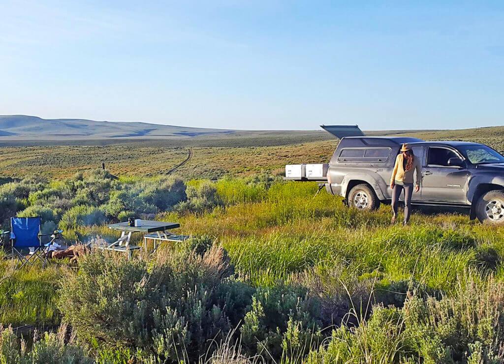 Car Camping Nevada