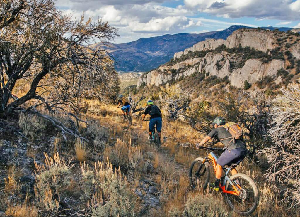 Mountain Biking, Nevada Mountain Biking, Mountain Biking Nevada, Single Track, Singletrack Trail
