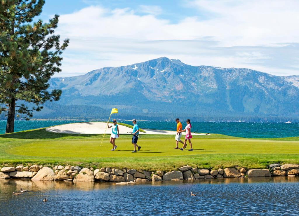 golf, golfing, Tahoe golfing, golfing at Tahoe