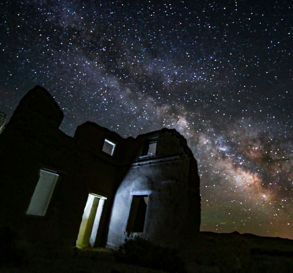 Fort Churchill State Historic Park, Astrophotography, Milky Way Photo
