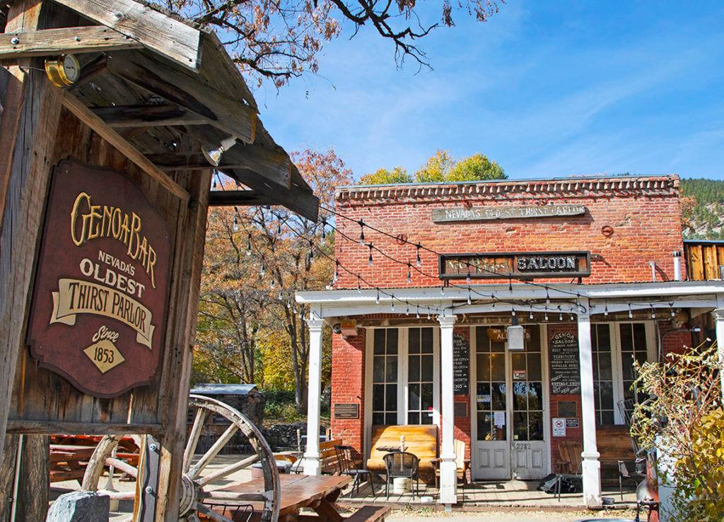 Genoa Bar, Oldest Bar, Nevada Bar, Nevada's Oldest Bar, Genoa Saloon, Genoa Thirst Parlor