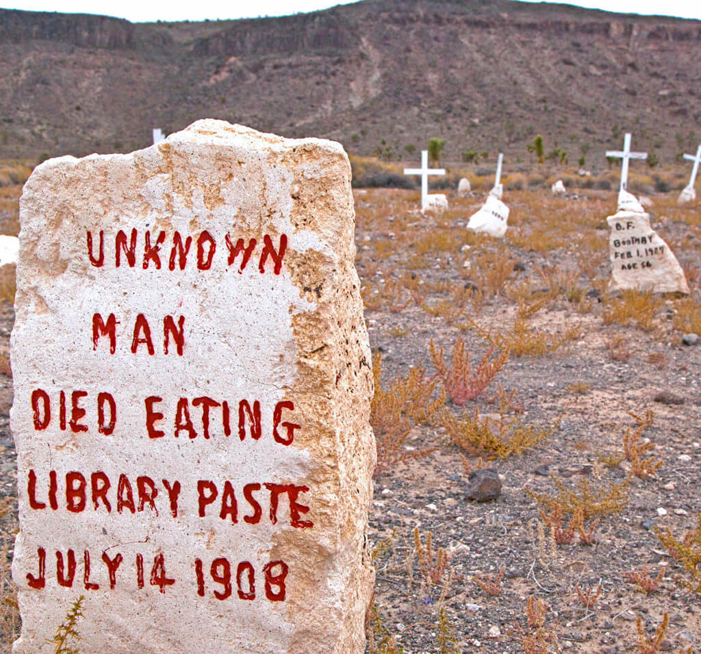 Weird Nevada, Goldfield Cemetery, Library Paste, Haunted Nevada