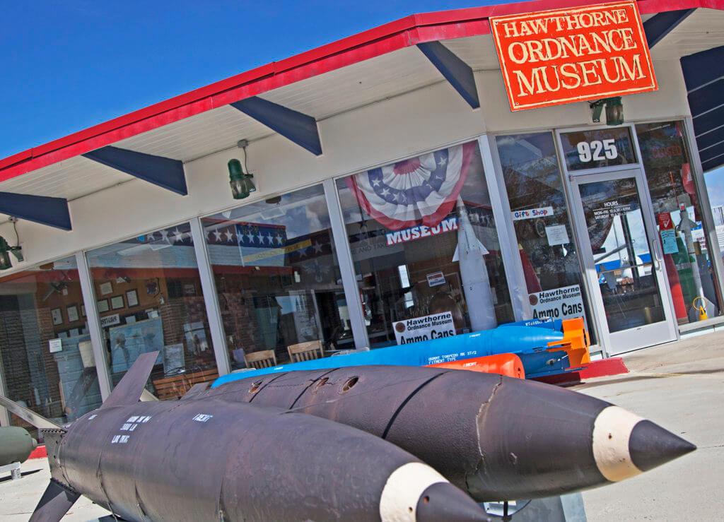Weird Nevada, Hawthorne Ordnance Museum, Ordnance Museum, Atomic Bombs