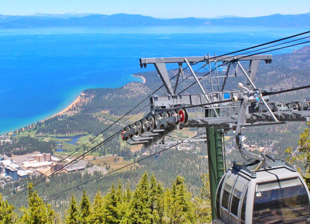 Heavenly Gondola, South Lake Tahoe Gondola, Gondola Ride, Family Activities