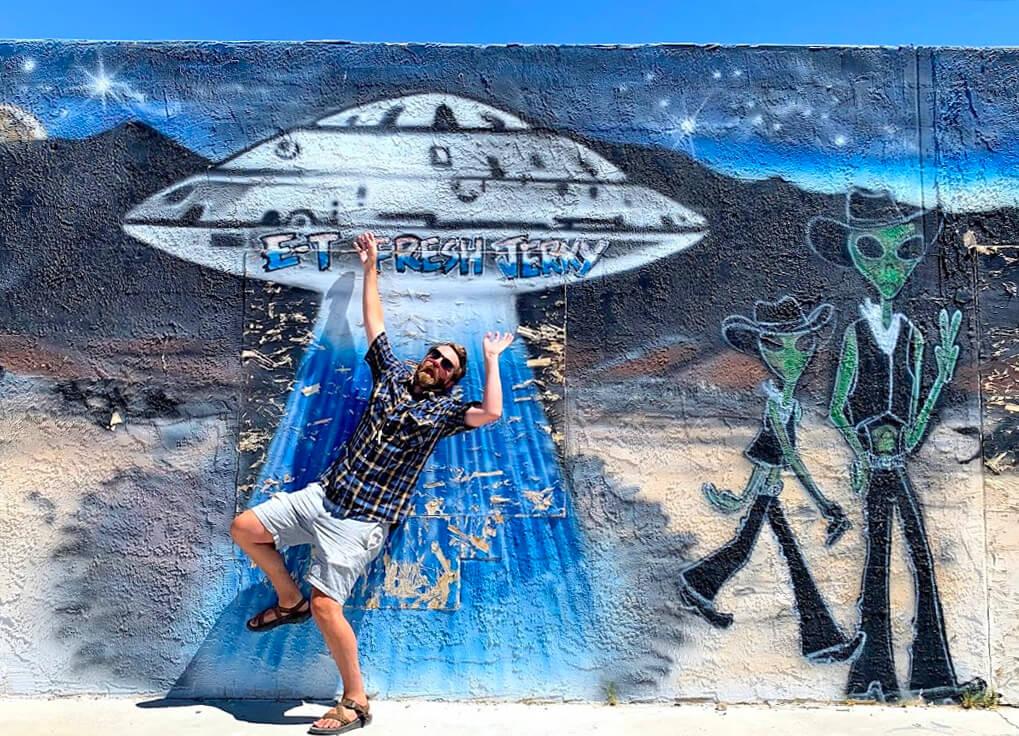 ET Fresh Jerky, Alien Mural, ET Highway Experience, Extraterrestrial