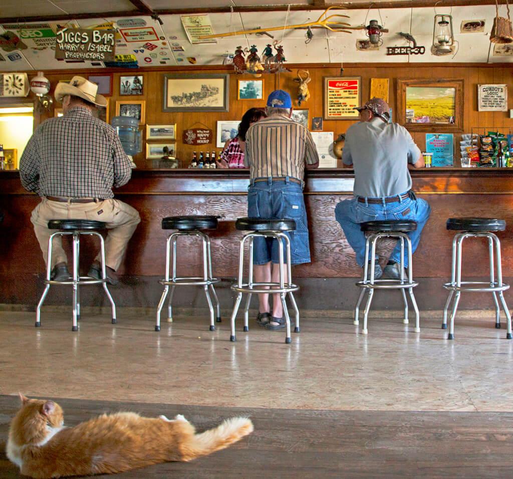 Sagebrush Saloons, Nevada Saloon, Nevada Bar, Historic Bar, Historic Saloon, Jiggs Bar