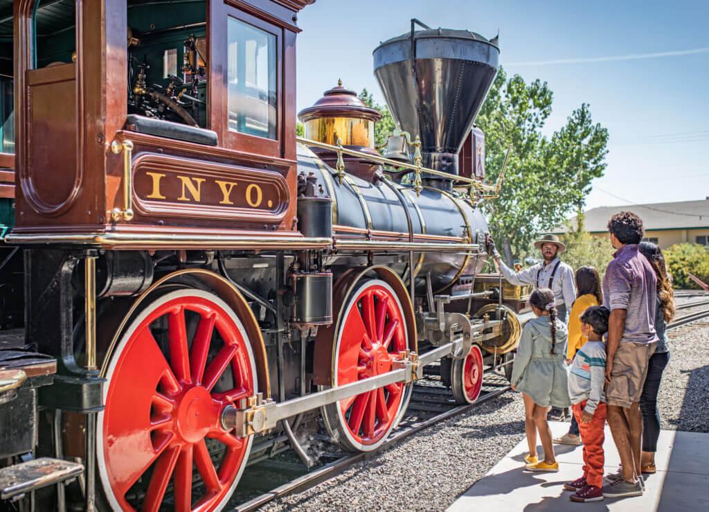 Nevada State Railroad Museum, Train Museum, Nevada train museum, Nevada railroad museum