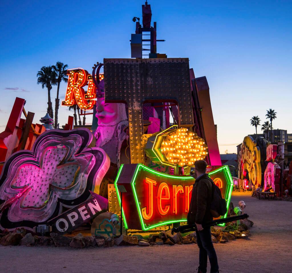 Neon Museum, Las Vegas Neon Museum, The Neon Museum, Neon Boneyard