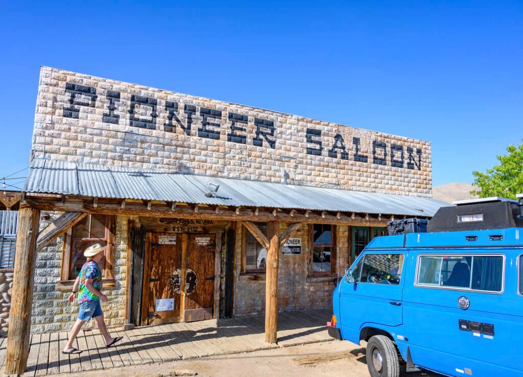 Sagebrush Saloon, Pioneer Saloon, Nevada Bar, Nevada Saloon, Historic Bar, Historic Saloon