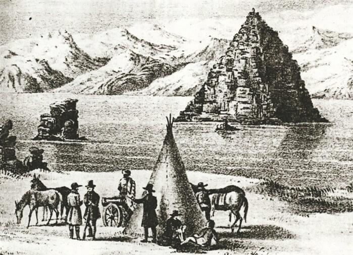 Pyramid Lake Westward Expansion, Pyramid Lake Historical
