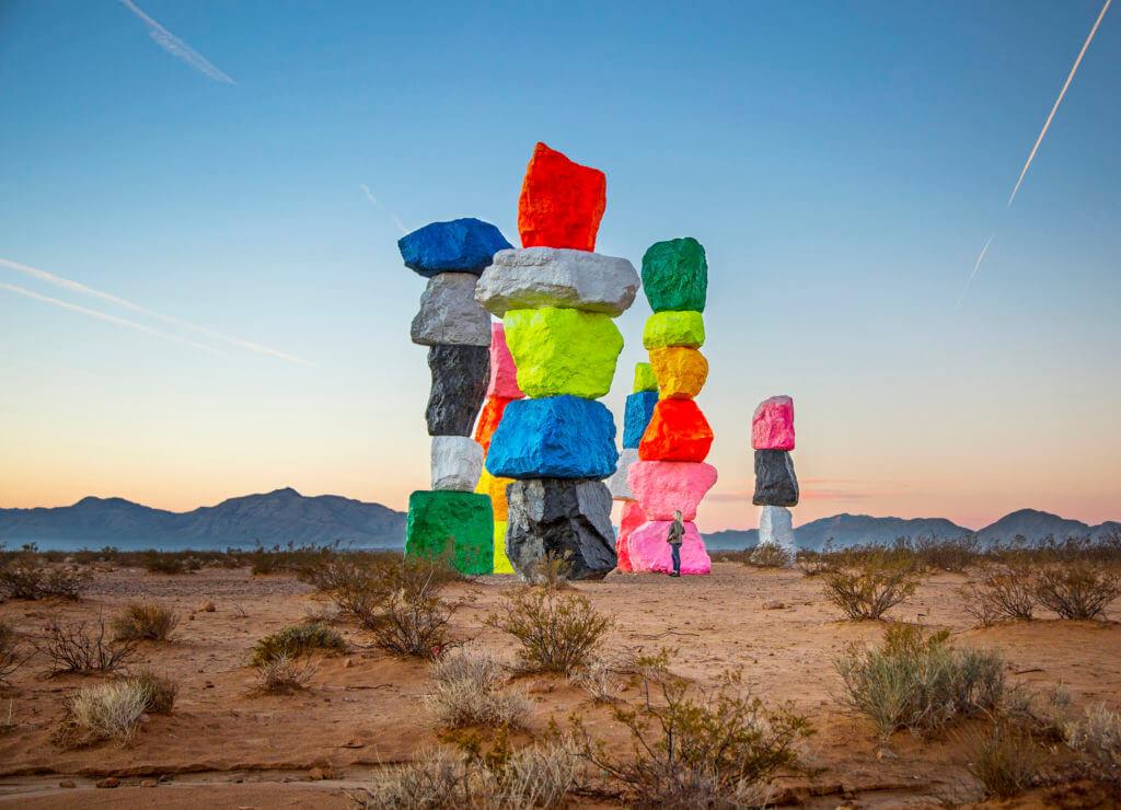 Seven Magic Mountains, Free Public Art Nevada, Sculpture Garden