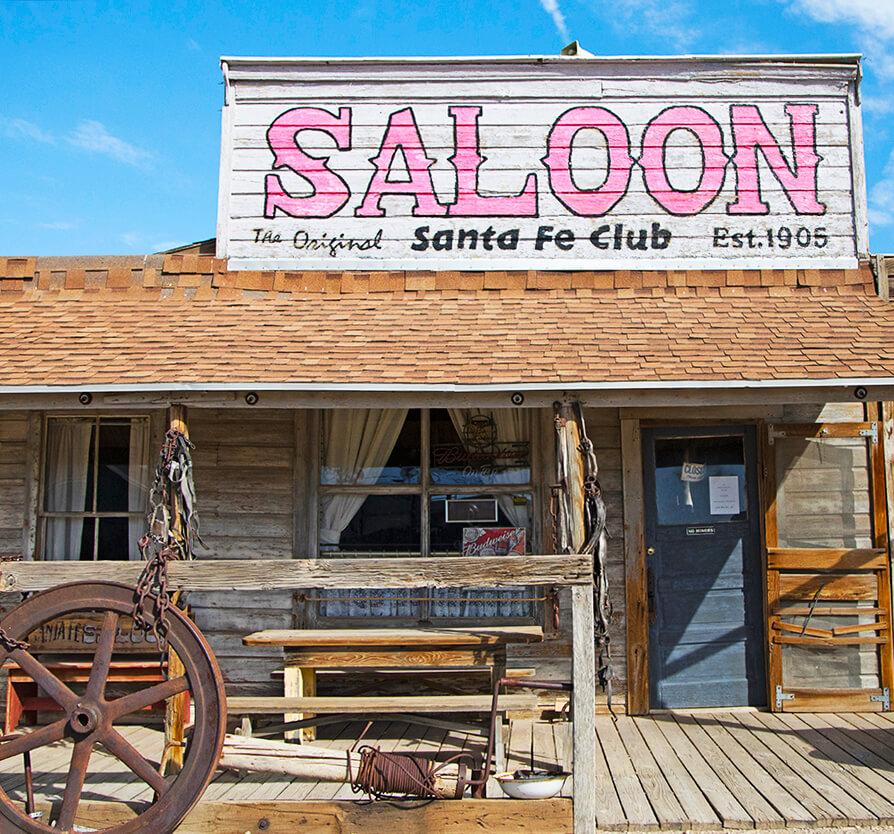 Santa Fe Saloon, Sagebrush Saloons, Goldfield Saloon, Nevada Saloons