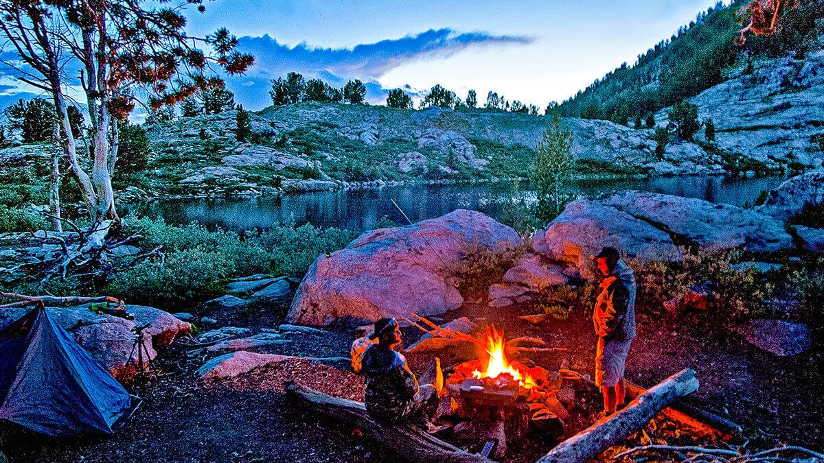 Camping, Camping in Nevada, Nevada Camping, Nevada campfire