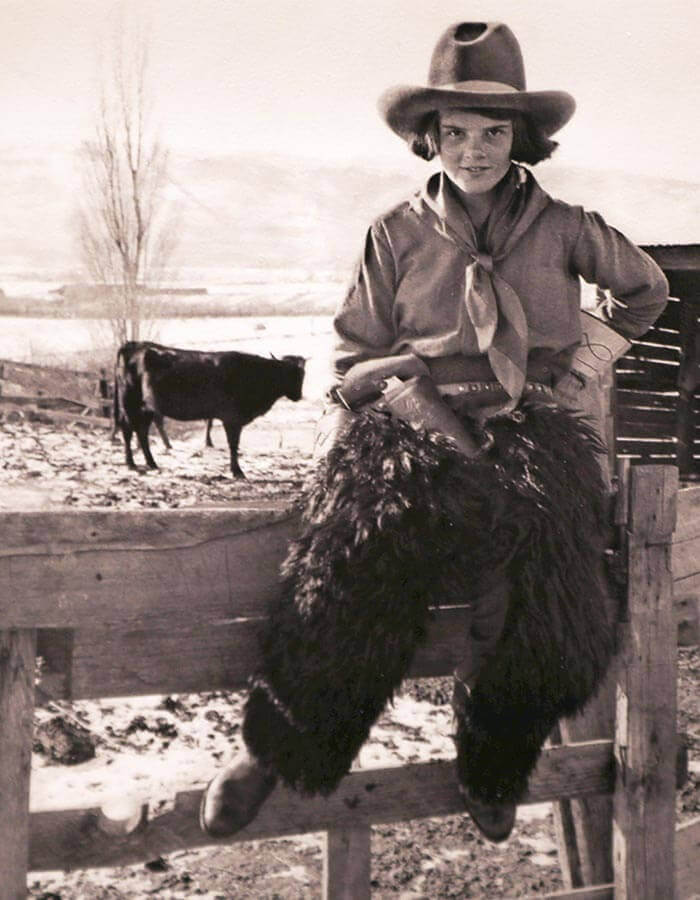 History and Heritage, Historical Photo, Historic Ranching image