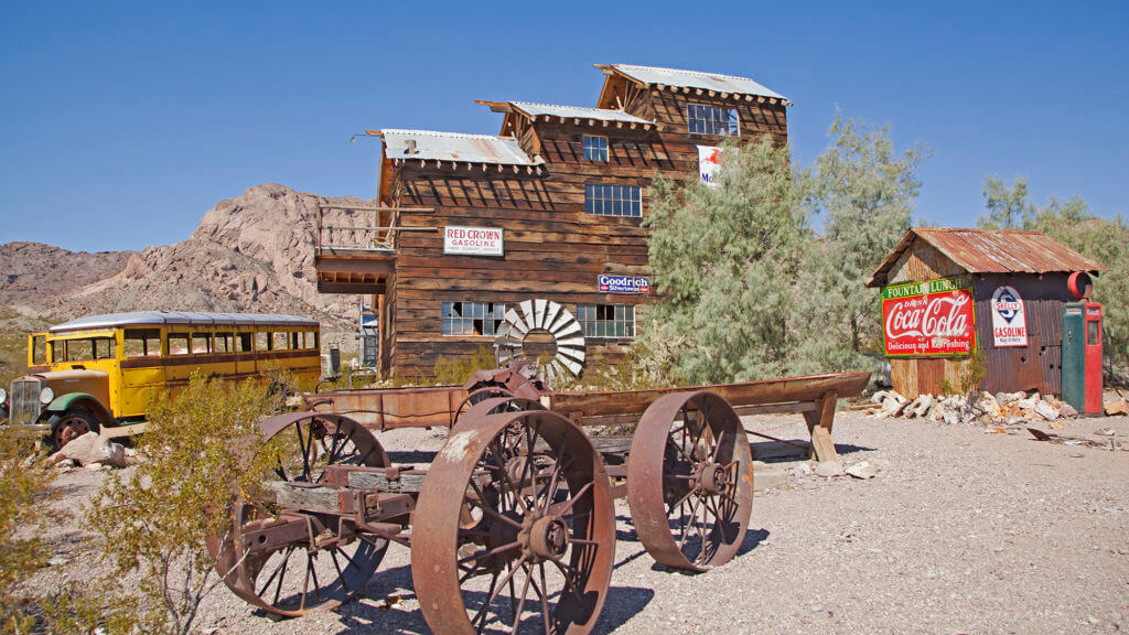 Techatticup, Nevada Ghost Town, Nevada Ghost Towns