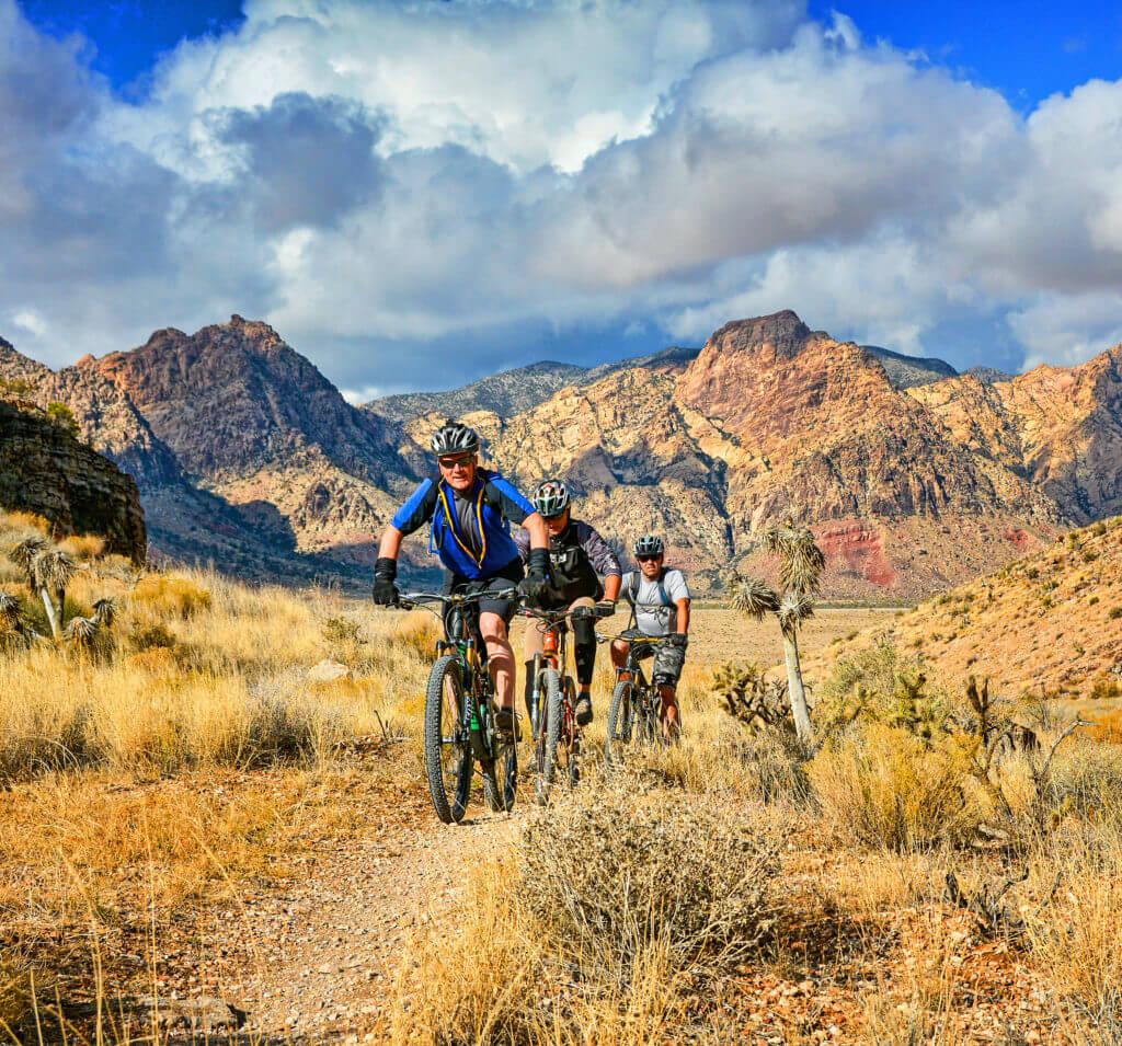 Las Vegas cycling, vegas mountain biking, cycling Red Rock Canyon