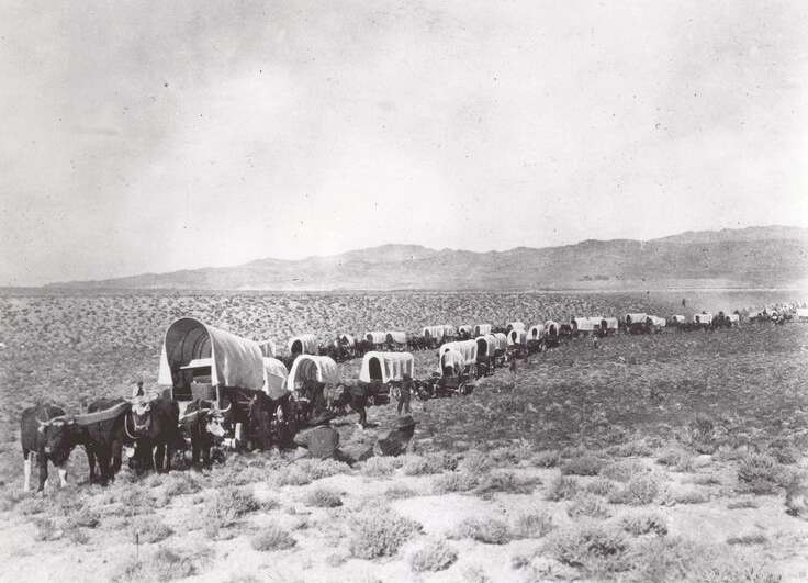 Historic Wagon Train, National Parks Service, California Trail, Westward Expansion, Wagons
