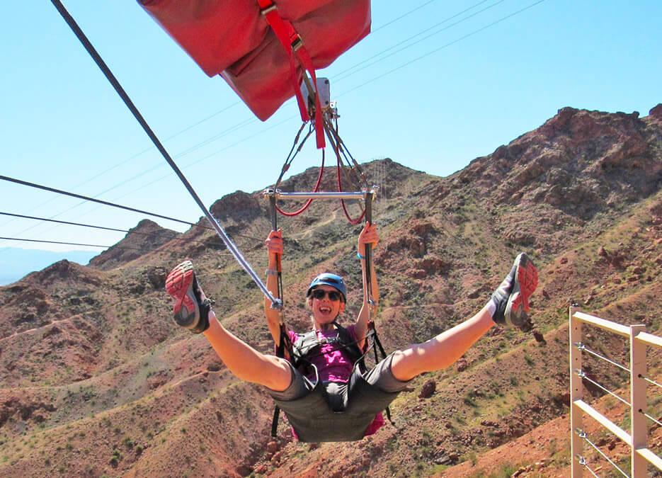 Zip Line, Ziplining, Flightlinez Bootleg Canyon, Air Sports, Nevada Air Sports