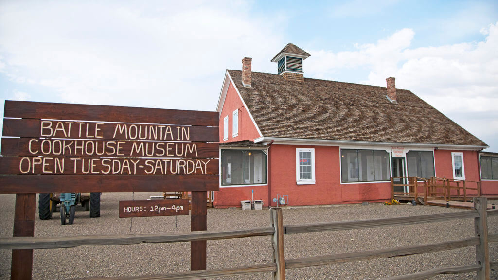 Battle Mountain Cookhouse Museum