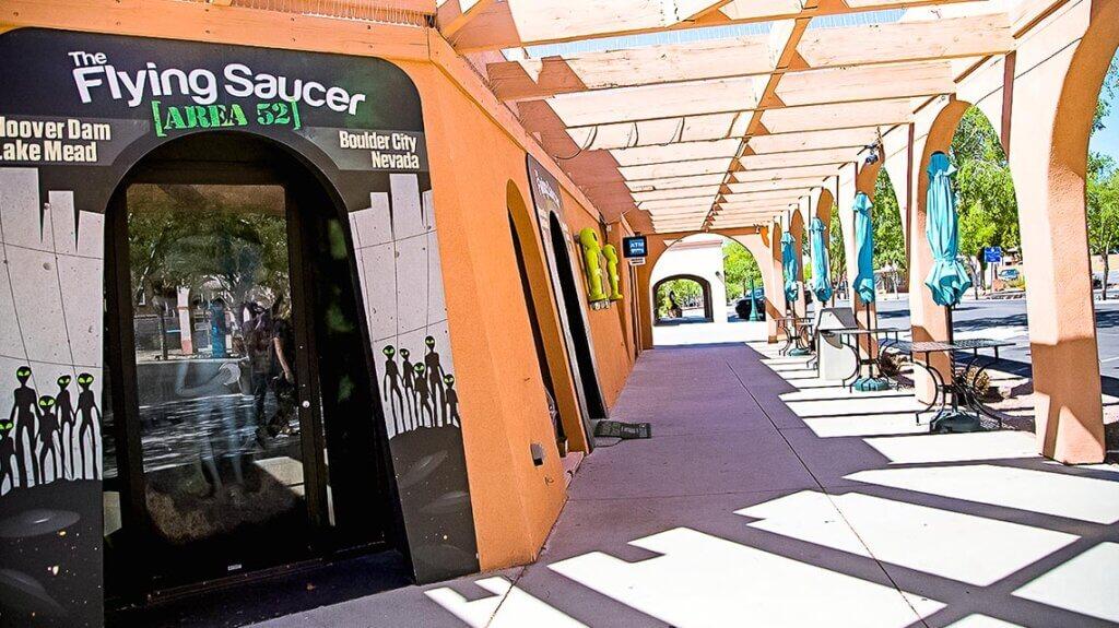 The Flying Saucer-Area 52-Shop, Boulder City, Nevada