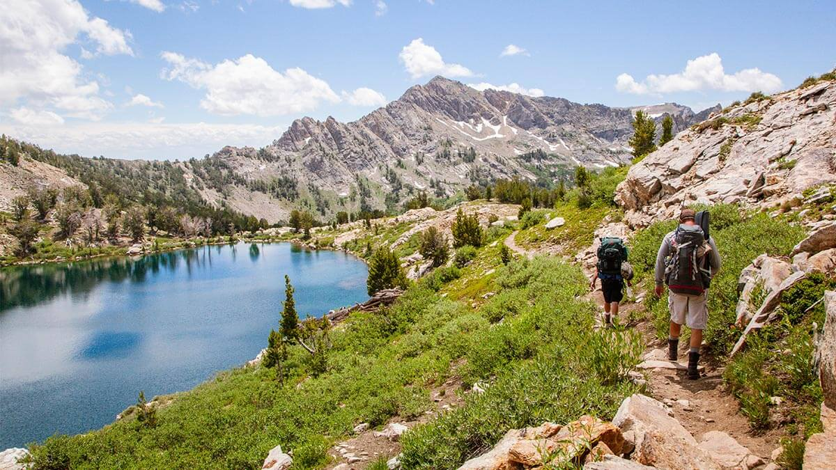 Ruby Crest National Recreation Trail, Liberty Lake