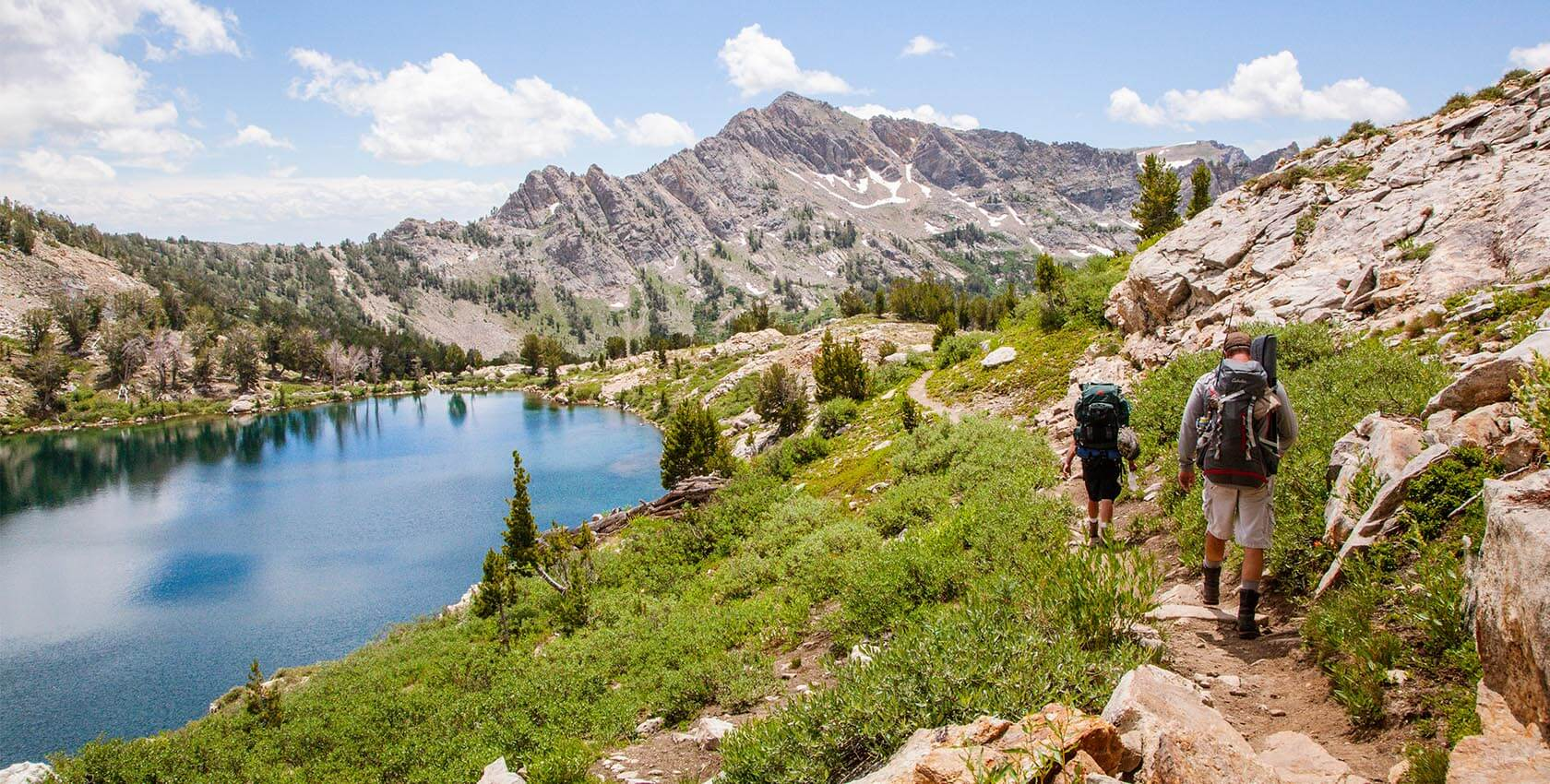 Ruby Crest National Recreation Trail, Liberty Lake