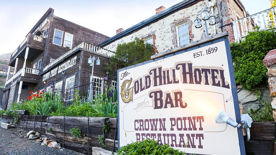Gold Hill Hotel and Bar, Virginia City, Nevada