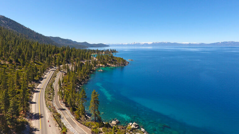 north lake tahoe shore