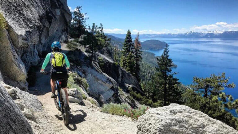 north lake tahoe mountain biking