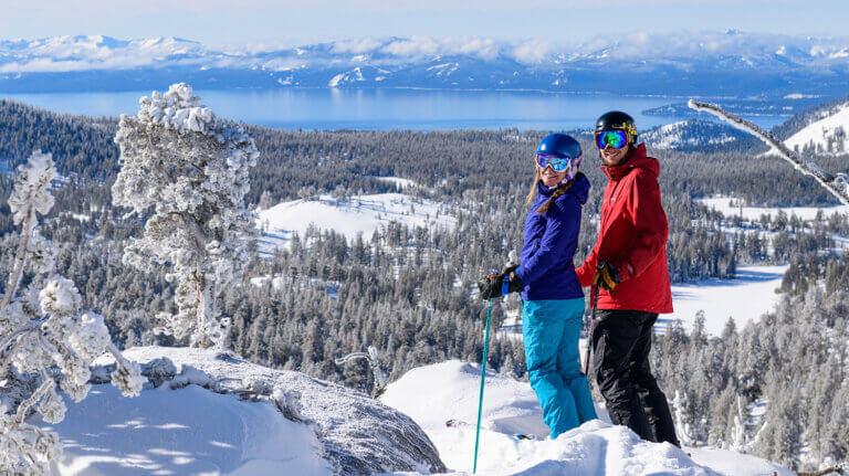 north lake tahoe skiing