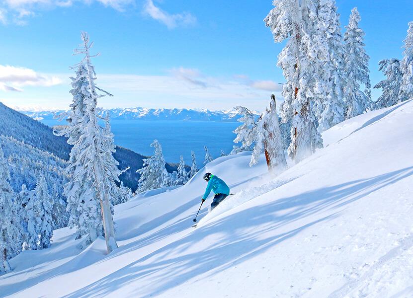 north lake tahoe ski