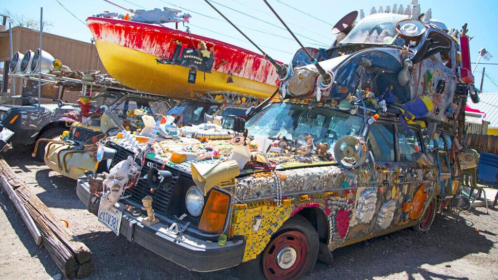 Rocket Bob's Art Cars