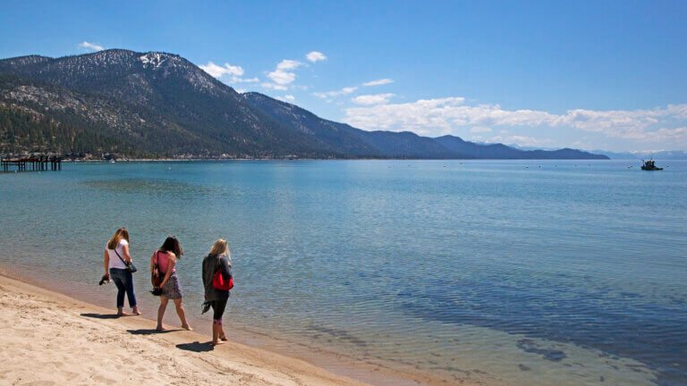 beaches in north lake tahoe