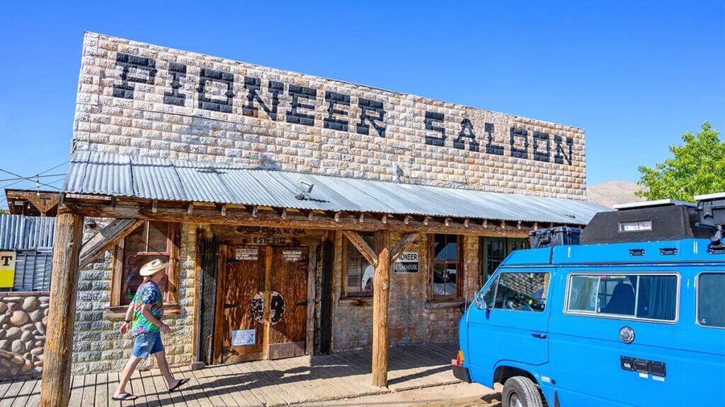 The Pioneer Saloon in Goodsprings, Nevada.