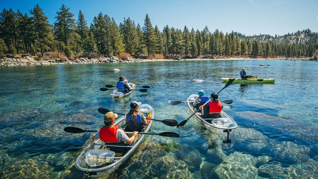 Clearly Tahoe Kayak Tours