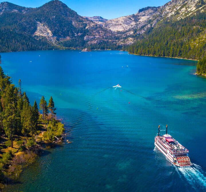 driving to lake tahoe