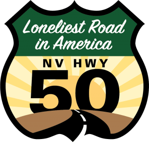 Loneliest Road in America Shield