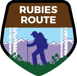Rubies Route Shield